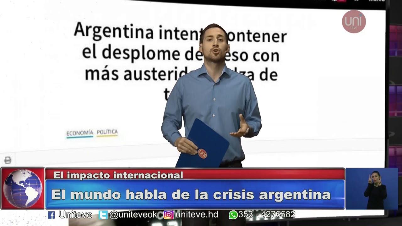 Uniteve Noticias Los Diarios Del Mundo Reflejan La Crisis